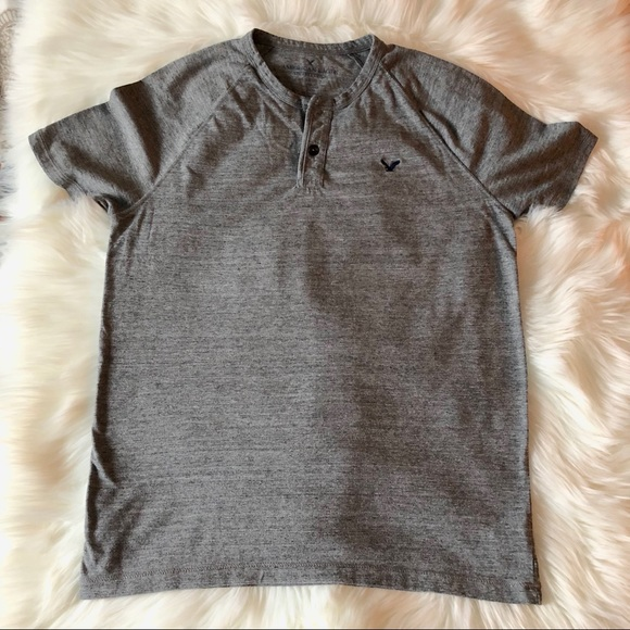 d0abb019d38 American Eagle Outfitters Shirts   American Eagle Mens Henley Shirt ...